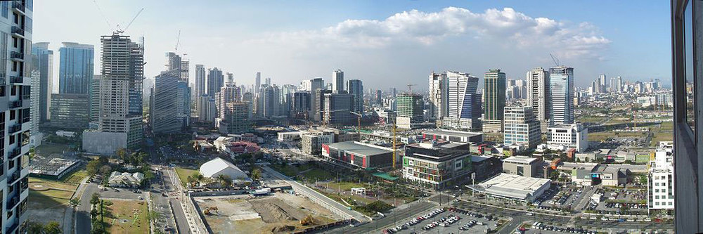 Bonifacio Global City, a new center of business in the Philippines (Photo byHans Olav Lien/Wikimedia Creative Commons License)