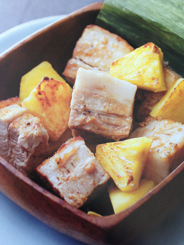 Pork Belly and Pineapple Adobo (Source: The Adobo Road Cookbook)
