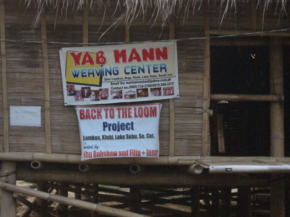 The Yab Mann Weaving Center (Photo by Patricia Araneta)