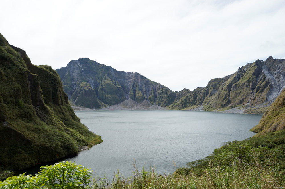 The crater lake (Photo by Sonny Siasoco)
