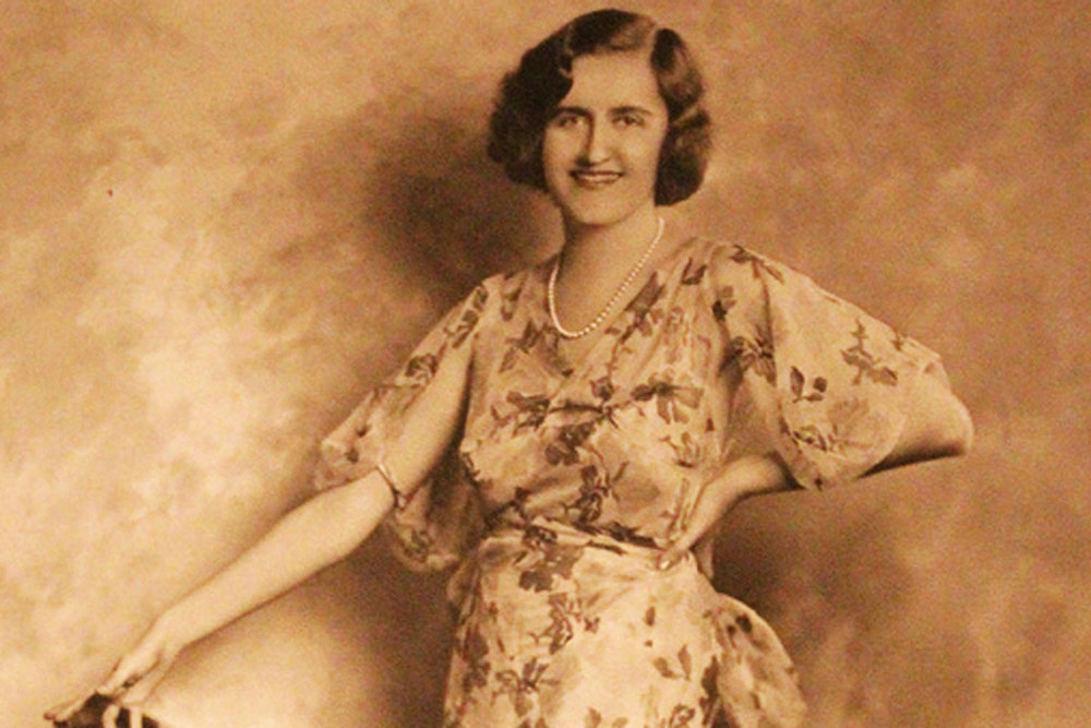 An oil portrait of Huguette Clark, circa 1943. (Source: the H. Clark estate)
