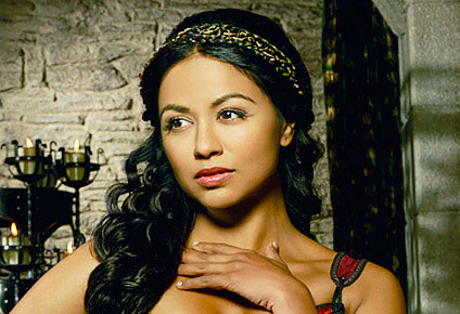 "Chinese-Indian-Canadian-English actress Karen David, who recently starred in ABC's mini-series, ""Galavant,"" is the author's choice to play Hadassah Peri, if ever the film version of Huguette and Hadassah's unlikely story, comes around. Would she have to learn a broken-English, Visayan-Ilonggo accent to play the role?"