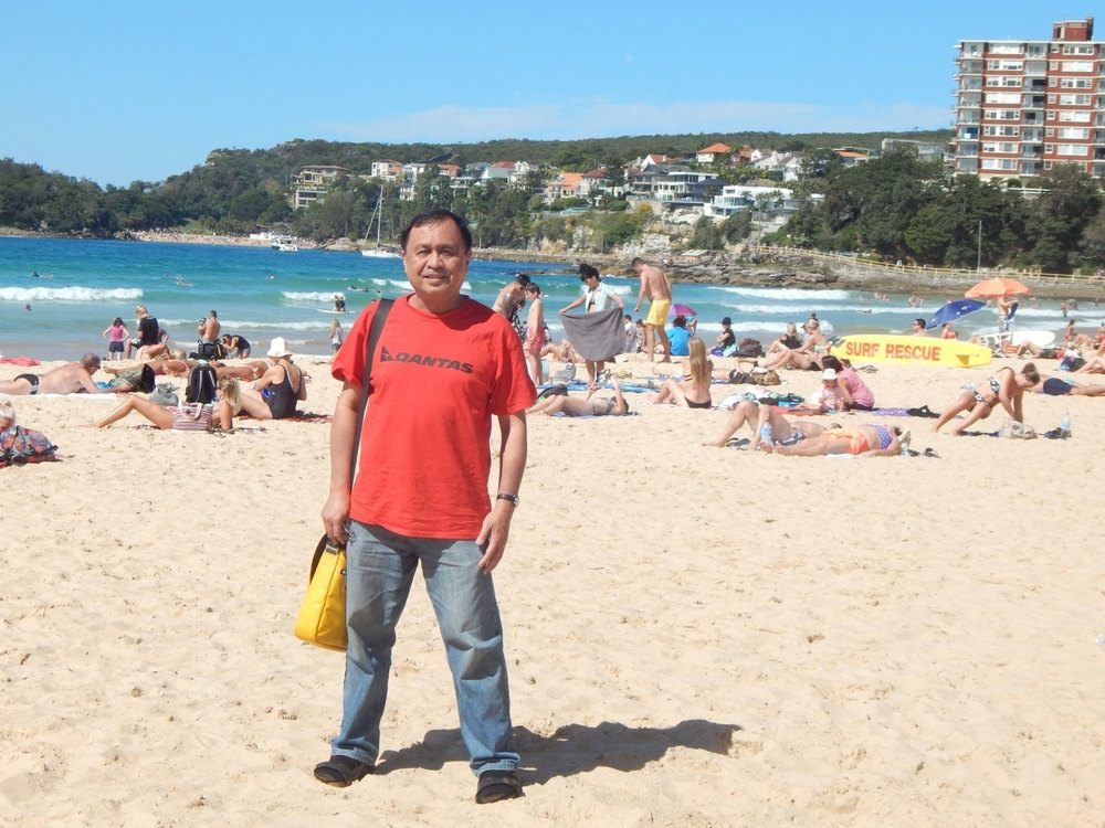 I enjoyed the beach in Manly, New South Wales! (Photo by Norman Javier)