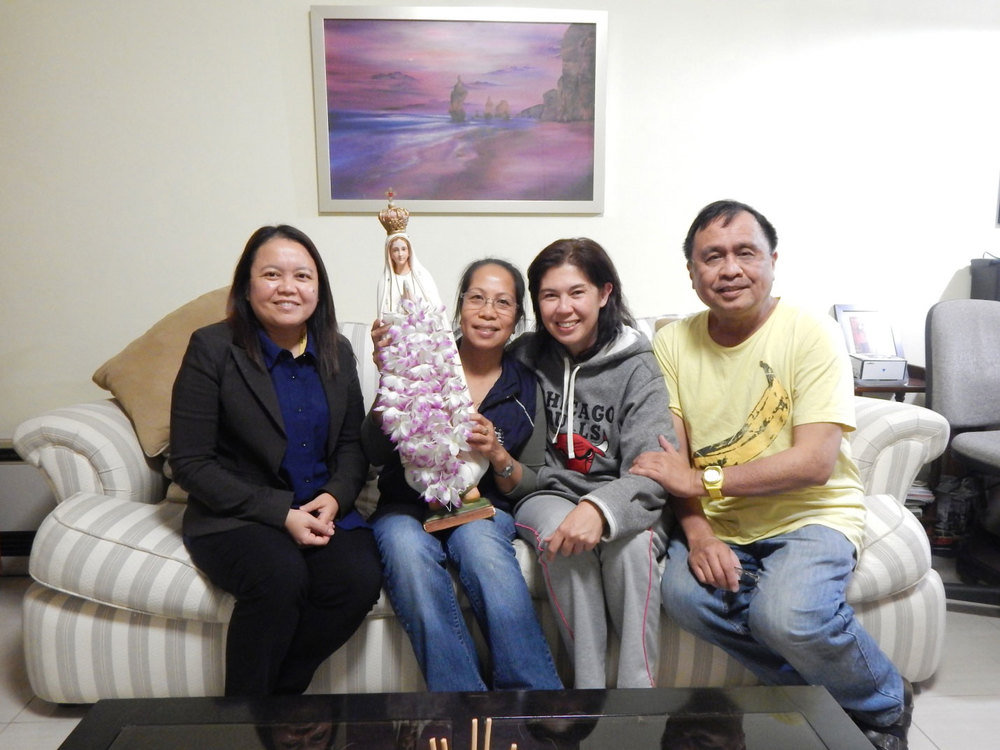 Maria Theresa Santos, Merlie Menor, Maria Amor Martinez, and Rey E. de la Cruz. (Photo by Ynez Ruiz)