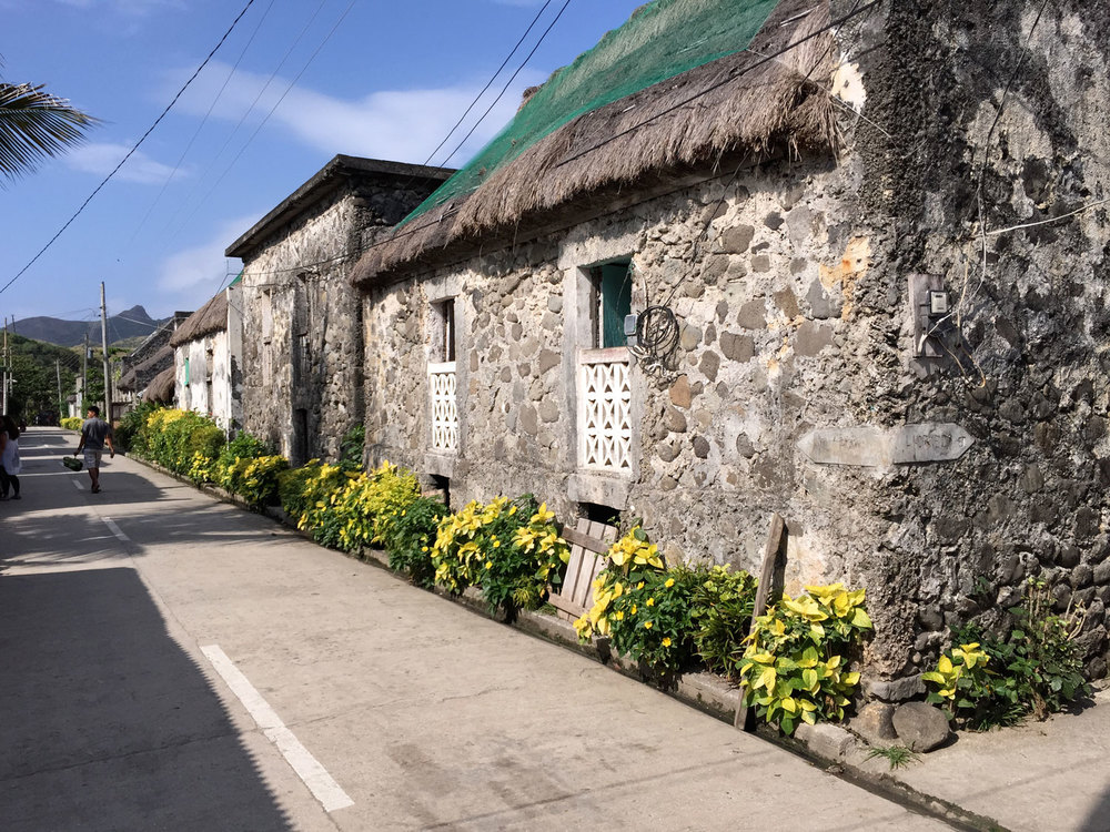Ivatan Stone Houses in Chavayan (Photo by Omar Paz)