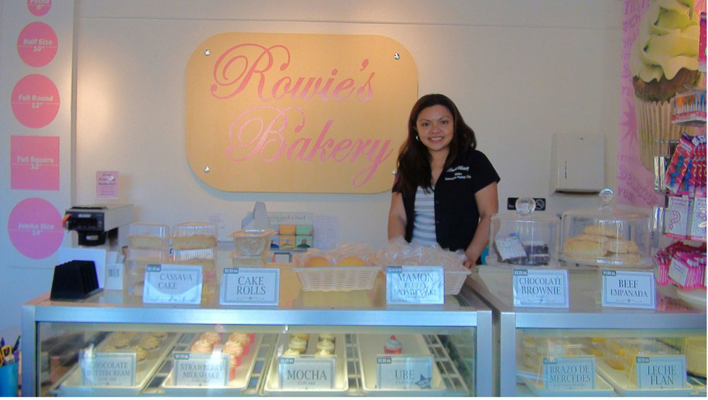 Rowie Ramos of Rowie's Bakery equates baking with happiness. (Photo by Ivan Kevin Castro)