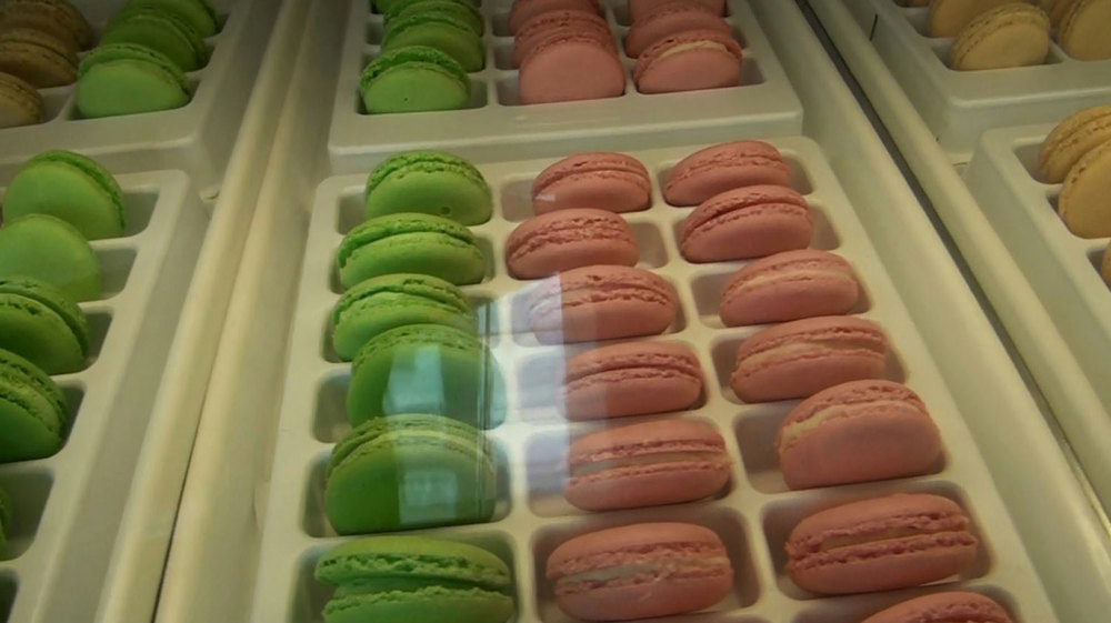 The macarons at Rowie's Bakery have Philippine flavors. (Photo by Ivan Kevin Castro)