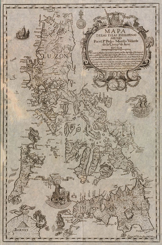 Las Islas Filipinas (Source: Three Hundred Years of Philippine Maps, 1598-1898)