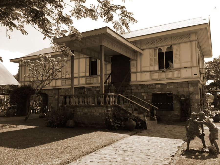 Casa Lubao (c.1920) was saved by a Japanese army officer from getting torched after serving as a garrison during WWII. (Photo by Omar Paz)