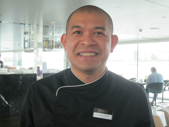 Exequiel Cruzat, executive chef (Photo by Mona Lisa Yuchengco)