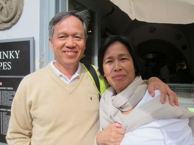 Quiel and Sonia Lampa (Photo by Mona Lisa Yuchengco)