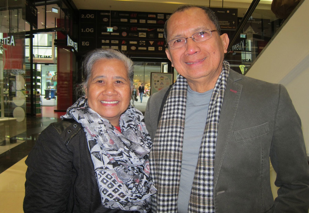 Mayflor and Ricardo Zabala (Photo by Mona Lisa Yuchengco)