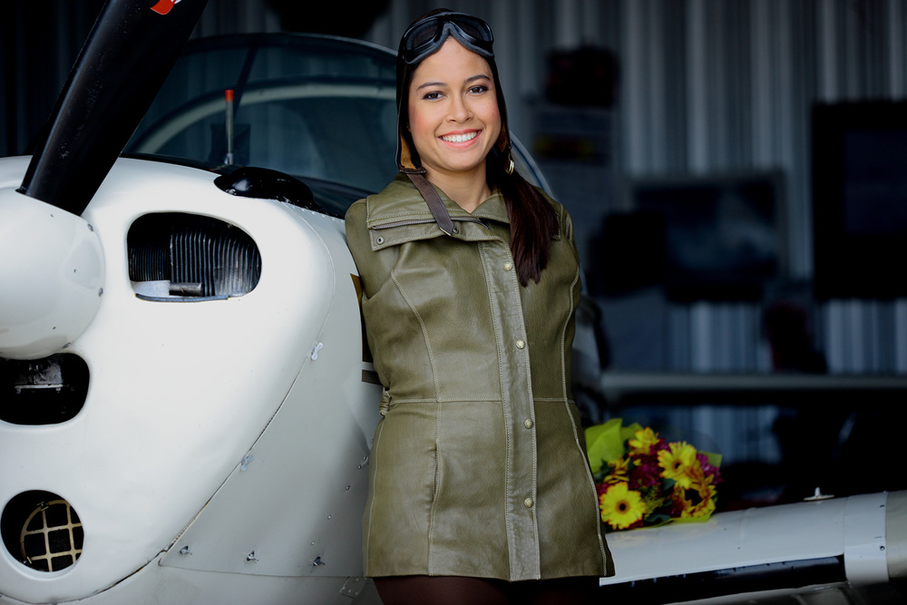 Jessica Cox, world's first licensed armless pilot (Courtesy of Jessica Cox Motivational Services)