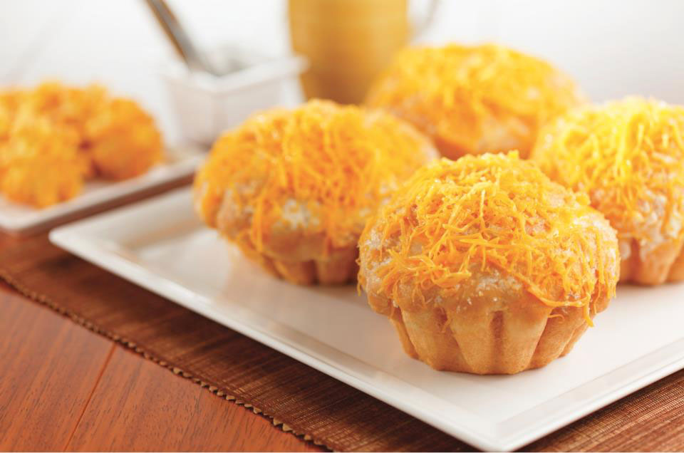 Ensaymada (Photo courtesy of Goldilocks Bakeshop)