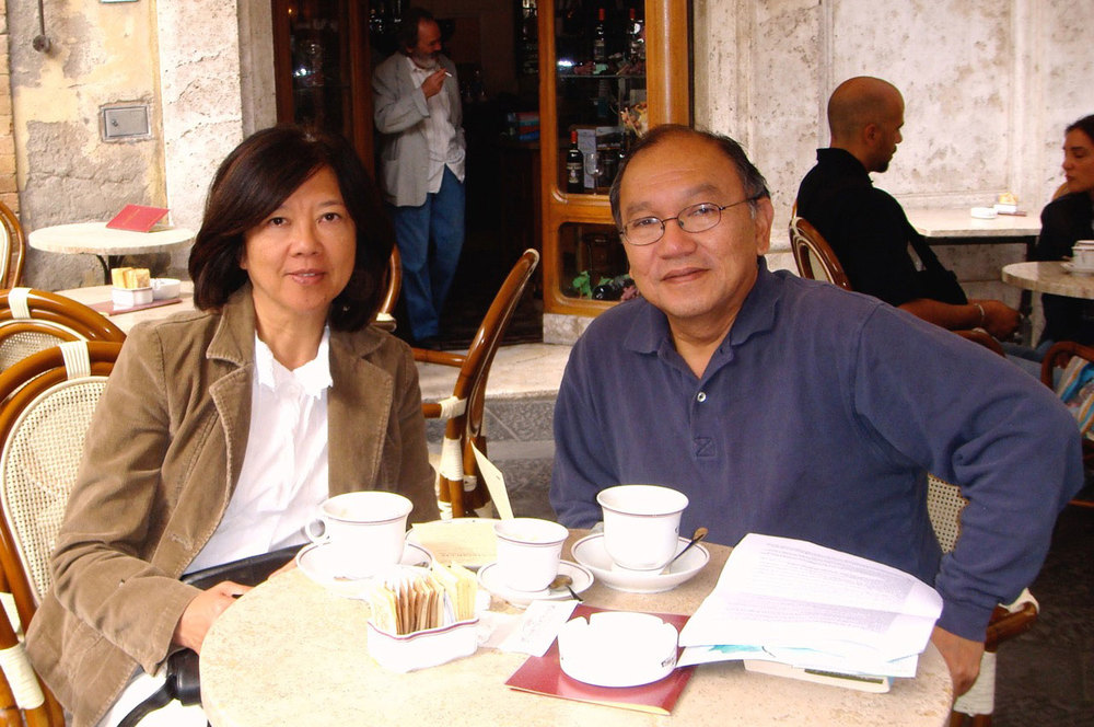 Tess and Roger Concepcion (Photo courtesy of the Concepcions)