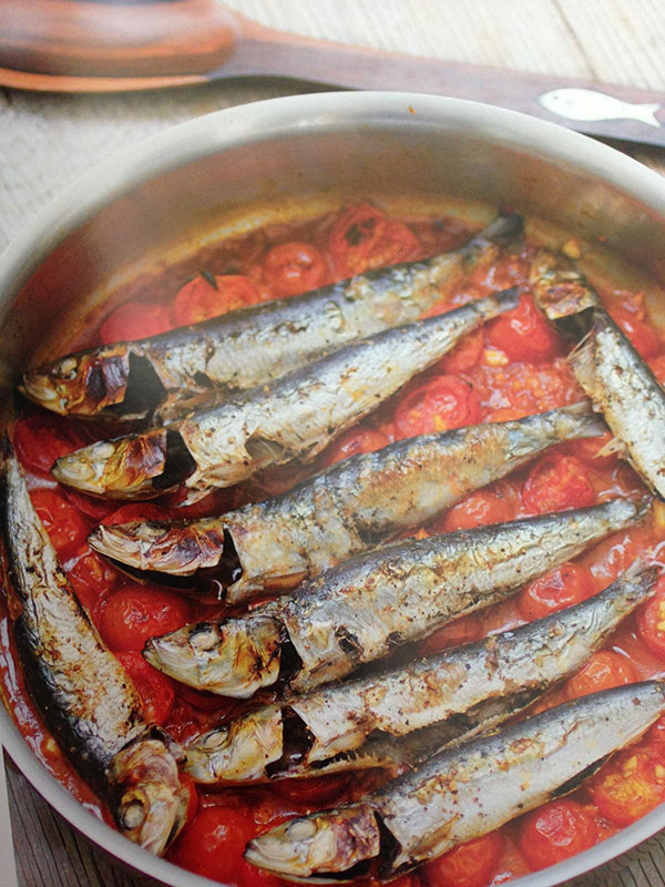 Sardines in spicy tomato sauce (Source: The Adobo Road Cookbook)