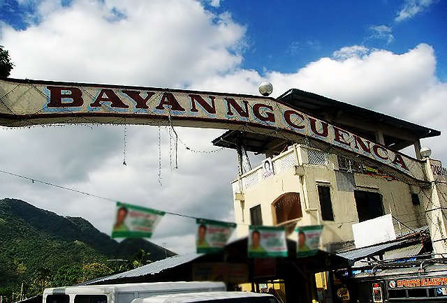 The welcome sign to Cuenca, Batangas (Source: geejaytravellog.blogspot.com)