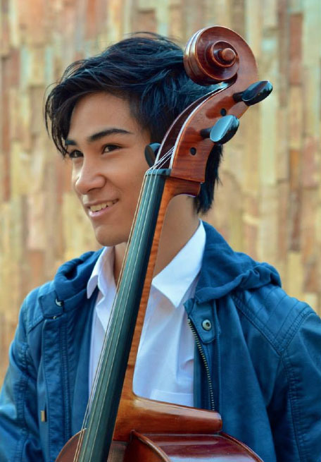 Matthew John Ignacio - Filipino Cellist and Music Prodigy (Photo courtesy of Matthew John Ignacio)