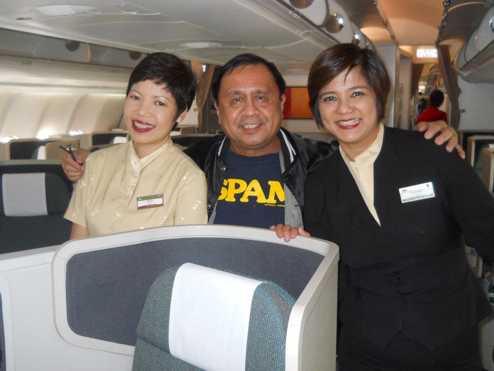 Dulce Bautista, Rey E. de la Cruz, and Ace Caño (Photo courtesy of Rey E. de la Cruz/Photo editing by Ivan Kevin Castro)