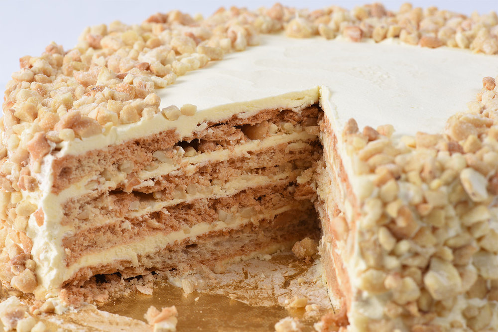 Goldilocks' Sansrival (Photo courtesy of Goldilocks Bakeshop)