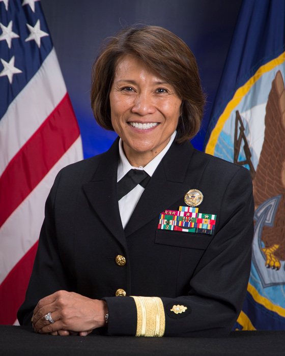 Rear Admiral Raquel C. Bono (Source: wikipedia.org)