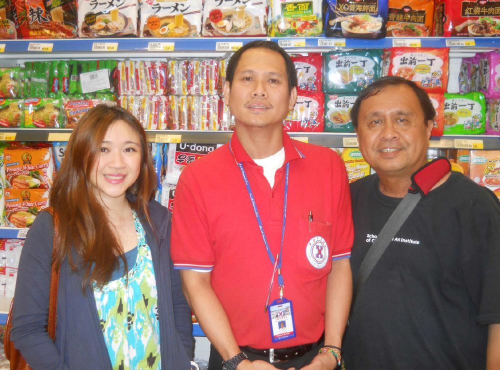 Syazwani Usop, Sonny Ramos, and Rey E. de la Cruz. (Photo by Mohamad Usop. Photo editing by Ivan Kevin Castro)