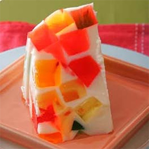Goldilocks' Rainbow Gelatin (Photo courtesy of Goldilocks' Bakeshop)