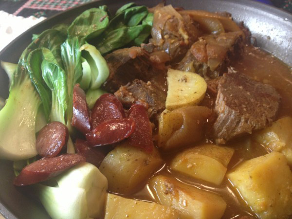 Beef Pochero (Photo by Elizabeth Ann Quirino)
