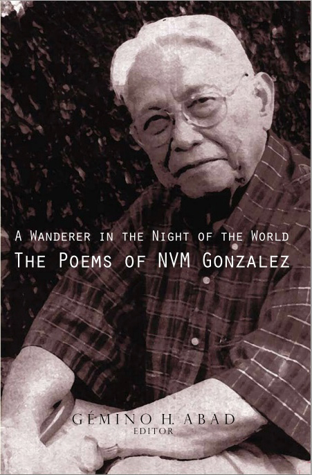 "NVM Gonzalez's ""A Wanderer in the Night of the World"""