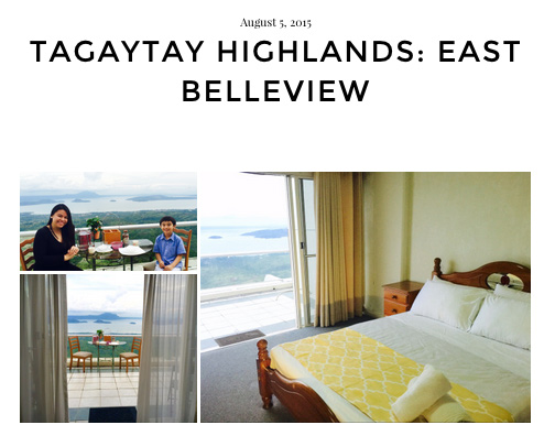A property in Tagaytay (Source: shortstay ph)