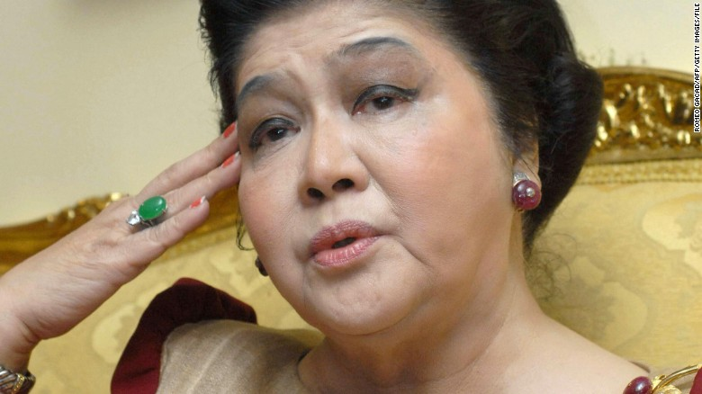 Imelda Marcos (Source: Getty Images)