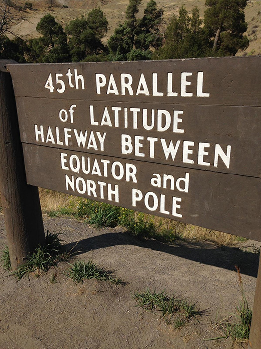 The 45th Parallel (Photo by Gemma Nemenzo)