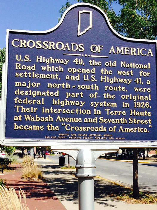 The Crossroads marker (Photo by Gemma Nemenzo)