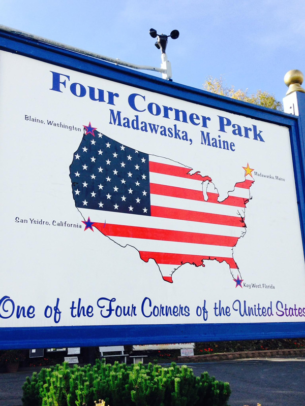 Four Corner Park, Madawaska, Maine (Photo by Gemma Nemenzo)