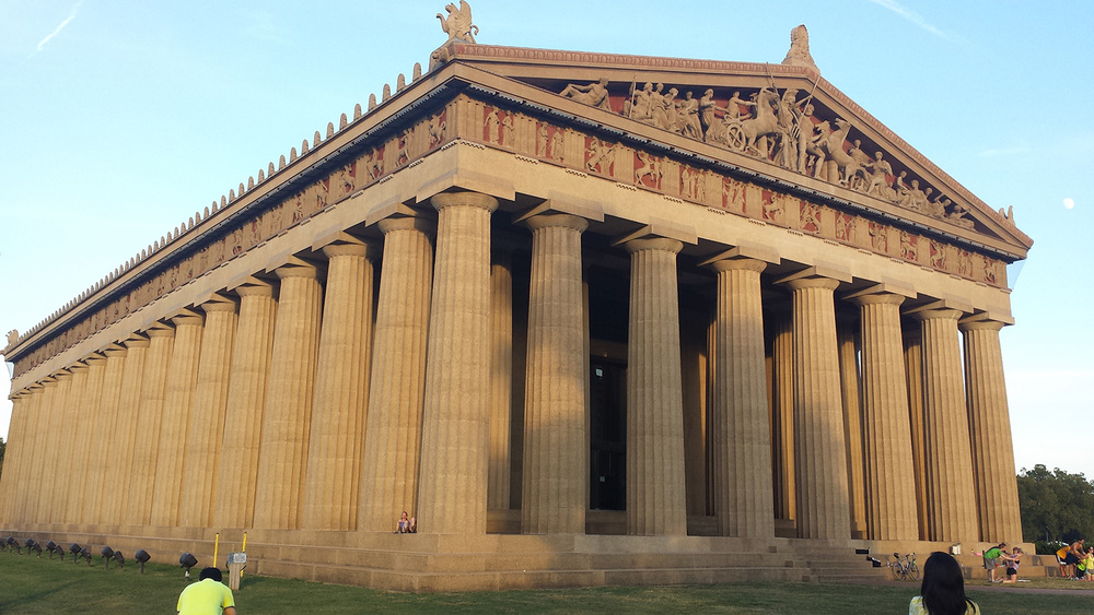 The Parthenon in Nashville, Tennessee (Photo by Gemma Nemenzo)