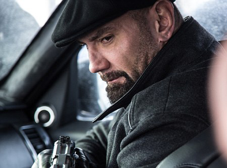 "Dave Bautista appears in the new James Bond movie ""Spectre."""
