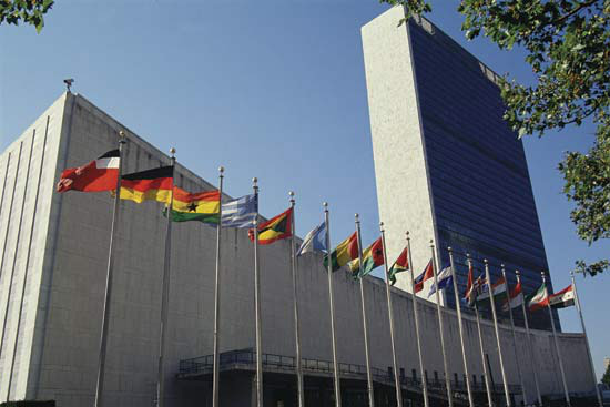 The U.N. headquarters in New York. What world-shaking secrets happened in its hallowed halls?
