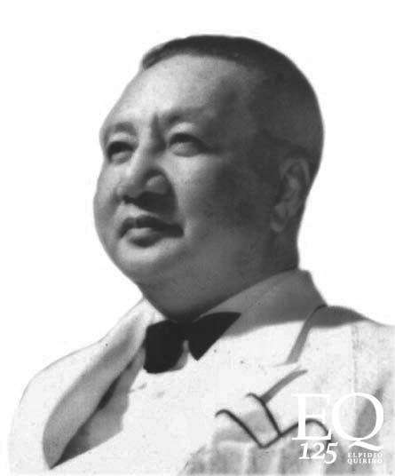 Elpidio Quirino, 6th President of the Philippines (1948 - 1953) (Photo courtesy of the President Elpidio Quirino Foundation)