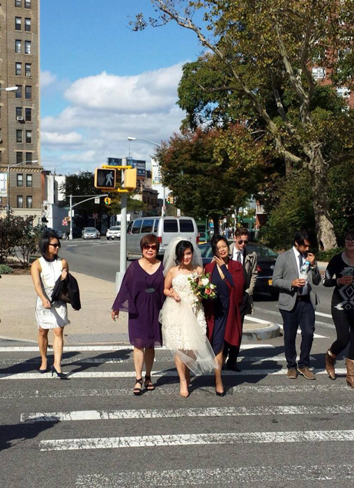 Walking to Prospect Park in Brooklyn (Photo courtesy of Gemma Nemenzo)
