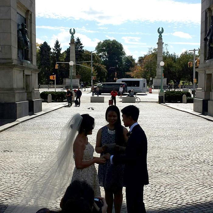 Maia and Jensen exchange vows (Photo courtesy of Gemma Nemenzo)