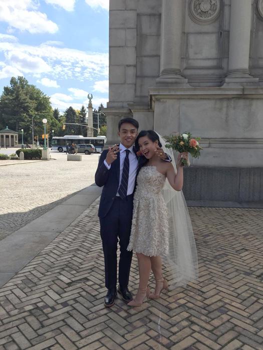 Jensen and Maia (Photo courtesy of Maia Almendral)