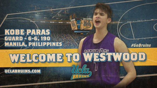 Kobe Paras (Source: UCLA Twitter)