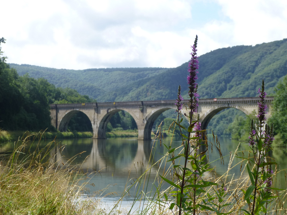 A viaduct across the River Meuse.  (Photo by Crselda Yabes)