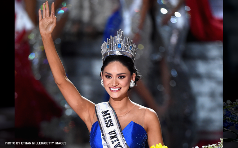 Miss Universe 2015 Pia Wurtzbach of the Philippines (Photo by Ethan Miller/Getty Images)