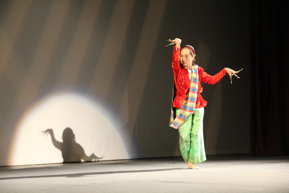Ligaya Amilbangsa at the CCP (Photo by Milo Paz)