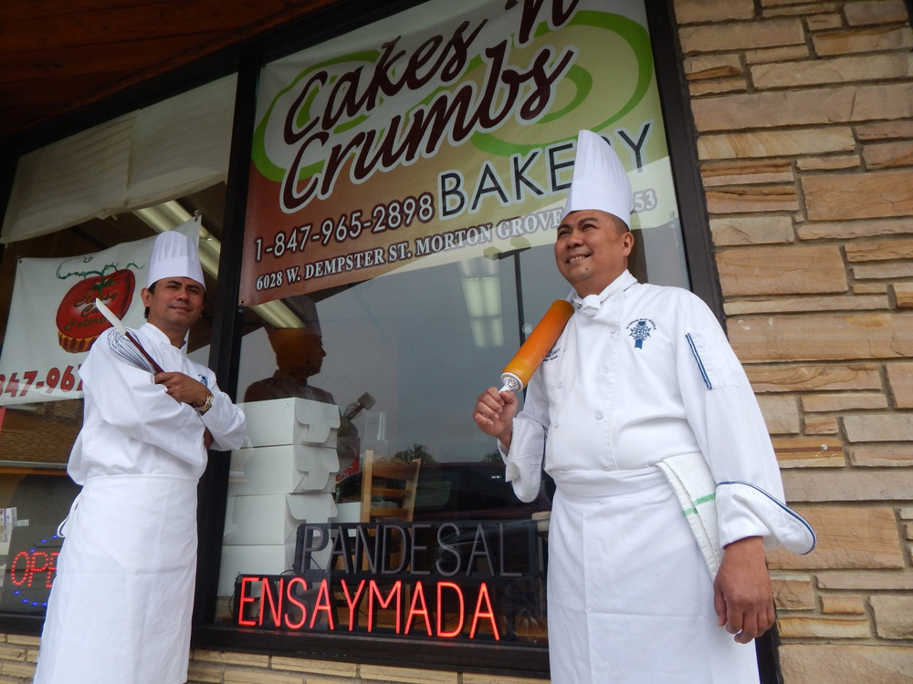 Jojo and Jing Palasigue collaboratively create the myriad irresistible delights at Cakes 'n Crumbs Gourmet Bakery. (Photo by Ivan Kevin Castro)