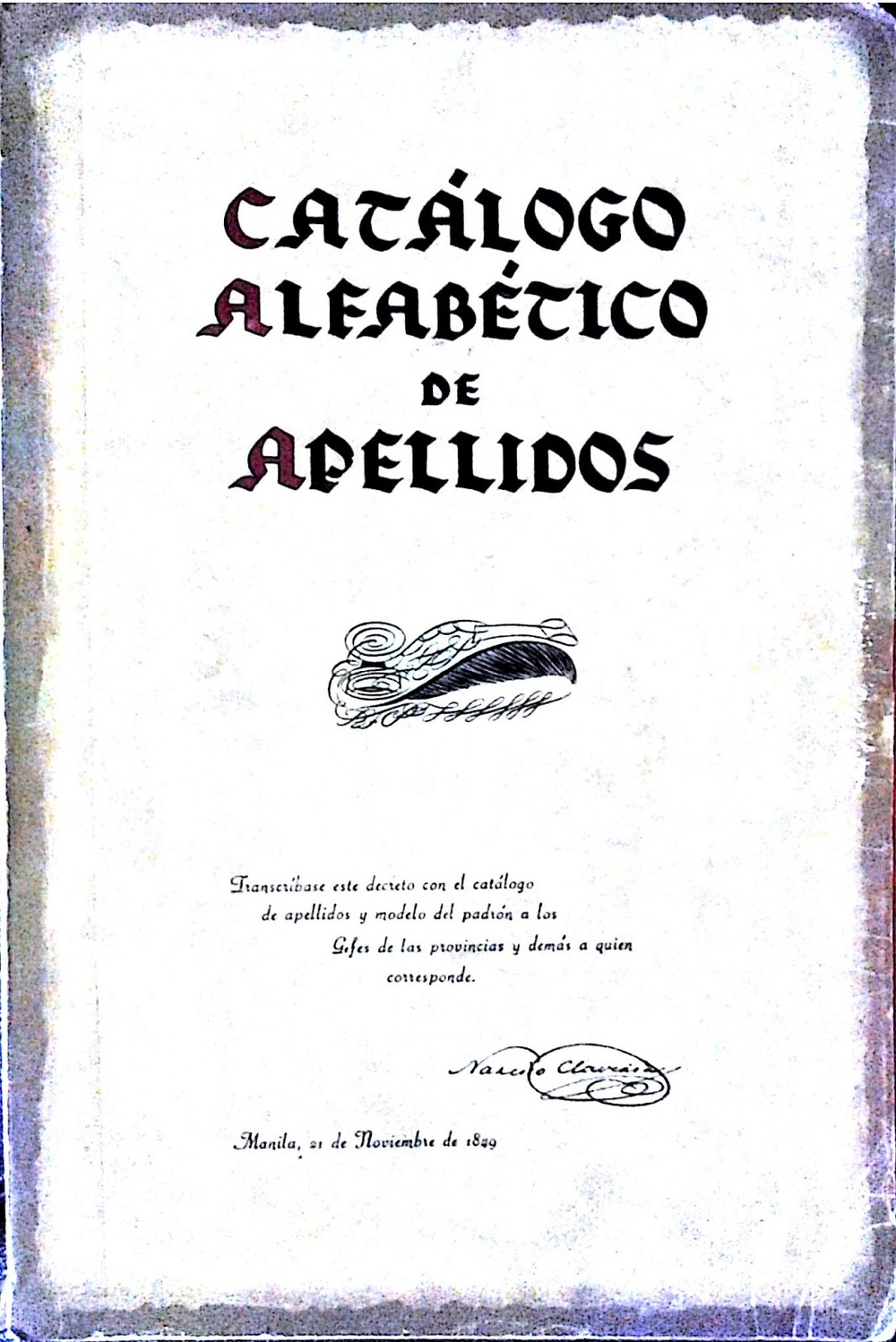 Catalogo de Apellidos  (Source: pilipino-express.com)