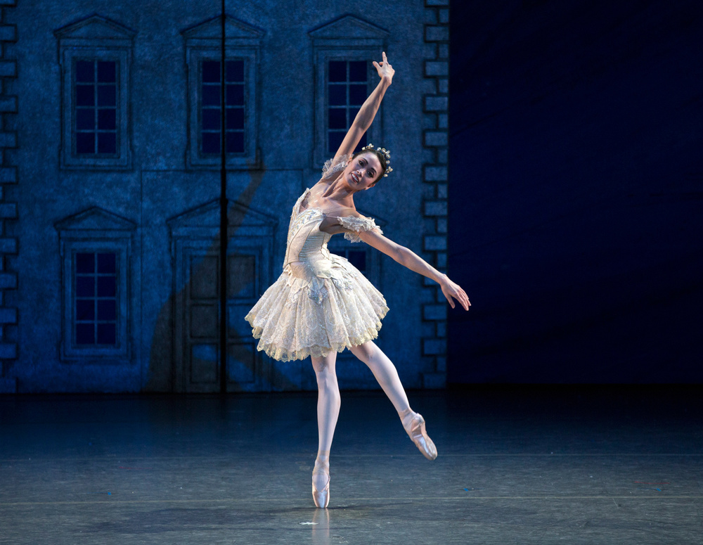 Stella Abrera in  The Nutcracker.  (Photo by Rosalie O'Connor)