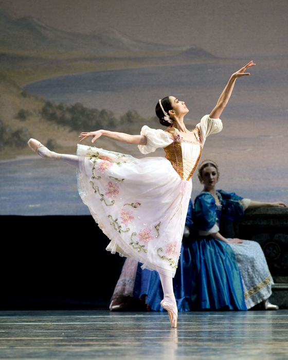 Stella Abrera in  Swan Lake.  (Photo by Gene Schiavone)