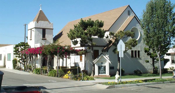 Christ United Methodist Church, the church I grew up in Santa Maria, California. (Source: https://sites.google.com/site/christumcsantamaria/)